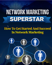 Network Marketing Superstar ebook pdf with master resell rights