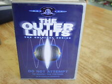 1960S THE OUTTER LIMITS ORIGINAL SERIES ONE 2002 27 HOURS VIEWING DVD SET USED