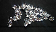 8mm White Cubic Zirconia Round Cut Loose Gemstone AAAAA lot of 6 stones