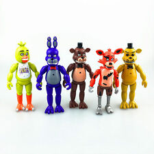 "5PCS A Set Fnaf Five Nights at Freddy's 6"" Action Figures With Light Toys Gift"