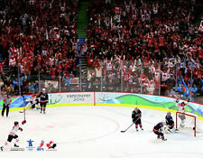 Team Canada Hockey VANCOUVER 2010 OLYMPICS GOLDEN GOAL Premium POSTER Print