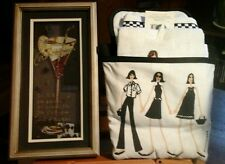 Kitchen Towel/Pocket/PotHolder&Wall Decor COSMO'S!  NWT-PERFECT GIFT!