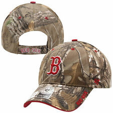 Boston Red Sox '47 Brand Camo Realtree Frost MVP Adjustable Hat