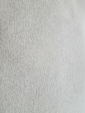Classic Trends Metallic Silver Grey Stripe Textured Vinyl Wallpaper 3498