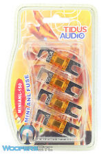 MINI ANL 150 AUDIO SMALL 4 PACK FUSES 150 AMP AMPLIFIER FOR TINY FUSE HOLDER NEW