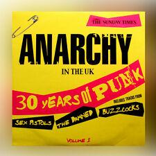 Domingo Times Anarchy En Los RU 30 Años De Punk Volumen 1 música cd álbum