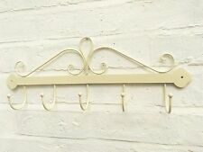Shabby Chic Hooks French Vintage Scroll Coat Rack Hook Bathroom Kitchen Hallway