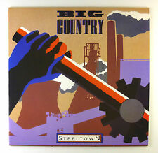 "12"" LP - Big Country - Steeltown - C2338 - washed & cleaned"