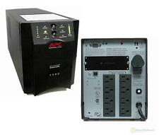 APC SUA1500 1500VA 980W 120V SMART-UPS POWER BACKUP TOWER USB,  -NEW BATTERIES--