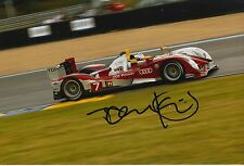 Tom Kristensen Hand Signed Audi Sport 12x8 Photo Le Mans 1.