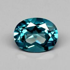 Only! $24.99/1pc 9x7mm Oval Natural London Blue Topaz, Brazil