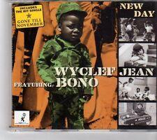 (FK303) Wyclef Bono, New Day - 1999 CD