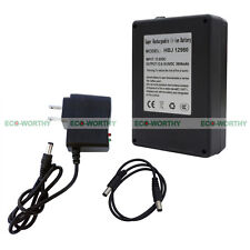 12V 9800mAh Rechargeable Li-ion Battery for LED Flashlight Digital Camera