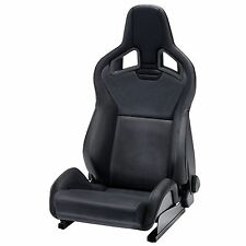 Recaro Sportster CS Reclining Bucket Seat - Black Ambla Leather - Left Hand