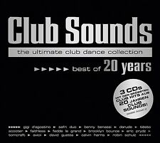 CLUB SOUNDS-BEST OF 20 YEARS (AVICII, SCOOTER, SYLVER,...) 3 CD NEU