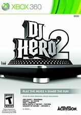 NEW SEALED DJ Hero 2 XBOX 360 Video Game iyaz nelly eminem pitbull justice kanye