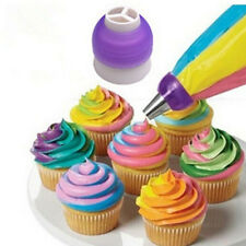 WDS 3 Color Cupcake Cookie Cutters Cream Decorating Bags Converter Cake Tools