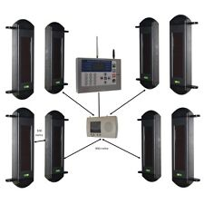 Wireless GSM Perimeter Alarm System with 4 sets of Beams & GSM H/D Dialler