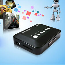 Mini Full HD 1080P HDMI Multi TV Media Player Support AVI Remote Control