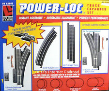 HO Scale Model Railroad Trains Layout Life-Like Power Loc Track Expander Package