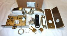 Falcon MA101 QN 630 Quantum Napa Mortise Passage Closet Lock RH w/Cyl STAINLESS