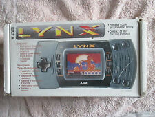Boxed Atari Lynx Mark 2 Console - With Official PSU / Working