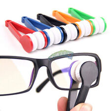 Mini Microfiber Spectacle Glasses Eyeglass Spectacles Cleaner Easy Clean Wipe