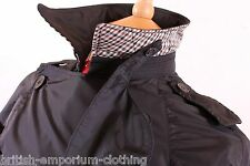 BNWT Aquascutum Navy DB Packaway Aquamac Rain Coat Ita56 / Uk46