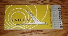 1965 Ford Falcon Owners Operators Manual 65