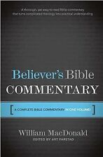 Believer's Bible Commentary by William MacDonald (1995)