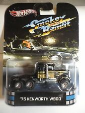 RETRO ENTERTAINMENT SERIES SMOKEY AND THE BANDIT '75 KENWORTH W900 !!