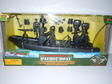 World Peacekeepers Navy Seal Patrol Boat 1:1/18 Scale Action Figure Play Set