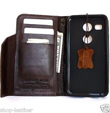 genuine real leather hard case for LG Nexus X5 wallet pouch luxury cover pro de