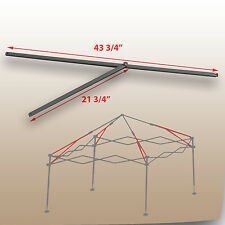 Coleman 10'x10' Straight Leg Canopy/Gazebo 2 PEAK TRUSS Bars  Replacement Parts