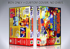 DIDDY KONG RACING. NTSC VERSION. Box/Case. Nintendo 64. BOX + COVER. (NO GAME).