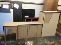 Ford Transit Camper Van Kitchen Unit Pod Cupboard interior LWB Ptop MDF