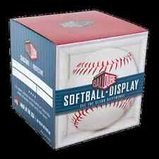 (12) SOFTBALL DISPLAY CASE CUBE HOLDERS