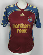 VINTAGE NEWCASTLE UNITED AWAY FOOTBALL SHIRT 06-07 YOUTHS M / L RARE ADIDAS