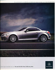 2005 Mercedes Benz SLK350 2-page - Classic Car Advertisement Print Ad J98