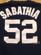 CC Sabathia New York Yankees VINTAGE Majestic MLB NY Shirt