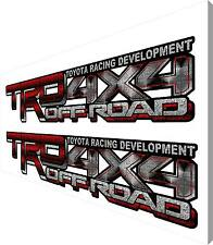 TRD 4X4 OFF ROAD DECALS 4X20 V6 TH2 TOYOTA TUNDRA TACOMA SPORT 4RUNNER STICKERS