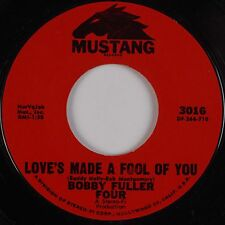 BOBBY FULLER FOUR: Love's Made A Fool Of You MUSTANG Northern Soul 45 NM-