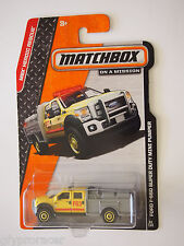 Matchbox FORD F-550 SUPER DUTY MINI PUMPER FIRE TRUCK