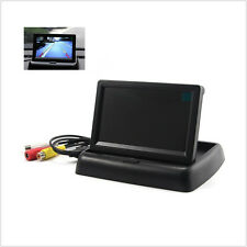 "Folding Car SUV Reverse Rearview Parking Monitor 4.3"" LCD Color Display Screen"