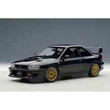 Autoart SUBARU IMPREZA 22B BLACK UPGRADED VERSION 1:18*New Item!