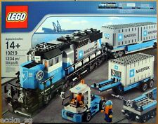 LEGO TRAIN 10219 Maersk Container Train