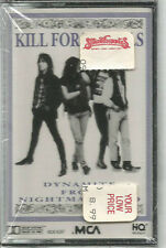 Kill For Thrills - Dynamite From Nightmareland 1990 Cassette SEALED Heavy Metal