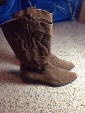 """Women's  boots  """"Giddy Up""""  Roxy Size 9 Brown Suede KED"""