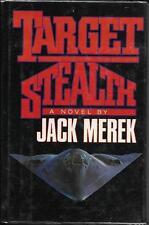 Target Stealth by John Merek (1990)  Hardback with Jacket