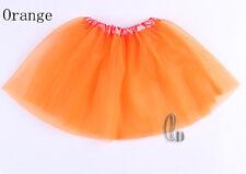 AU SELLER Adults Teens Girls Ballet Dance Party 3 Layered Tulle Tutu Skirt da014